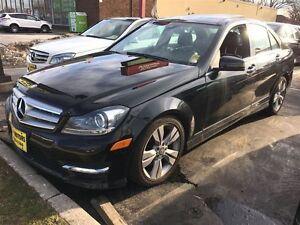 2012 Mercedes-Benz C-Class C300, 4MATIC, Leather, Sunroof