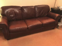 Leather Suite - 3 Seater Settee & 2 Seater Settee