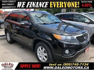 2012 Kia Sorento LX | AWD| BLUETOOTH| HEATED SEATS