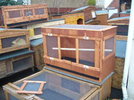indoor/outdoor avaries from£40.00 7days 07889465089 up from hampden park all sizes worth a view