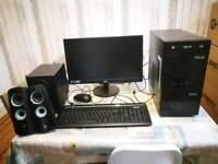 PC plus desktop speakers