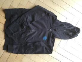 Replay hoodie with zipper