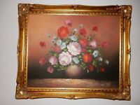 ORIGINAL OIL PAINTING ON CANVAS - FRAMED