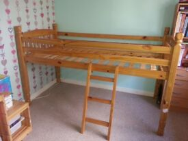 Kids bunk Bed Mid Sleeper Cabin Bed
