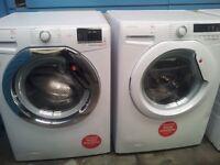 New Hoover 9kg washing machine ex display