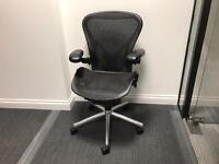 Herman Miller Aeron, PostureFit, Size B. 11 Available