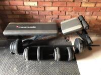 Bench with Barbell & Dumbbells
