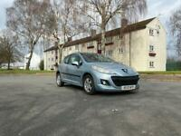 Peugeot 207 1.4 petrol with low miles and 12 months mot