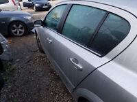 Vauxhall Astra mk 5 Passengers Rear Door in Silver