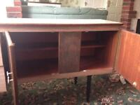 Retro sideboard and dining table set