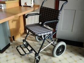 wheel chair travel lite