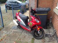 Longjia 125 recently had a 150cc kit on. SWAP for pushbike & money