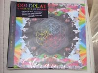 COLDPLAY, A headful of dreams CD, Brand new in wrapping. Duplicate gift. £7. Can post.