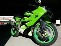 Kawasaki ninja zx6r j1