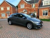 2013 HONDA CIVIC I-VETEC ES 1.8, CRUISE, BLUETOOTH, REVERSE CAMERA, FULL HISTORY, ONE PREVIOUS OWNER
