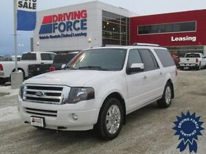 2014 Ford Expedition Max Limited 8 Passenger, 61,785 KM, 5.4L V8