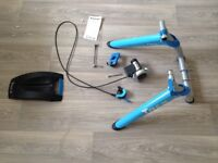 Tacx Satori cycle indoor turbo trainer with tacx quick release skewer