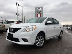 2012 Nissan Versa 1.6 SL (CVT)-LOW KM'S AND ACCIDENT FREE!!!