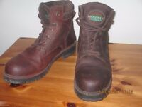 Leather ladies walking boots