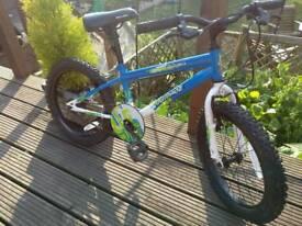 Apollo outrage child's bike