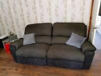 3 seater + 2 seater lazy boy sofas