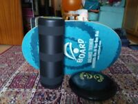 Indoboard Original training package (Deck, Roller, Cushion)
