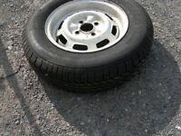 Caravan trailer spare tyre 165 r13