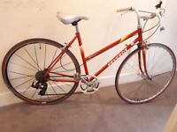 """Ladies peugeot monte carlo bike 19"""" frame just serviced gears-breaks and wheels cycles lovely"""