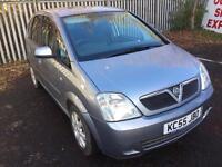 Vauxhall Meriva 1.4 Petrol 2005 Long MOT