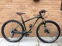 2013 Scott 920 Carbon Scale 29er medium frame very good condition one lady owner.