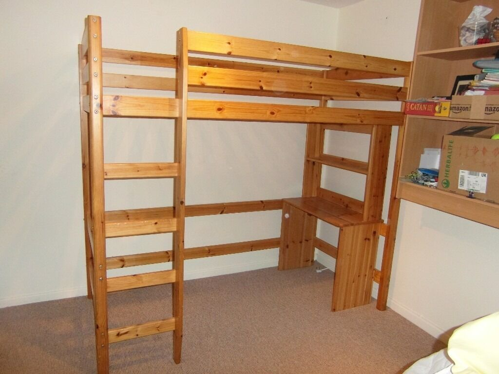 Solid Wood Bunk Bed - Very Good Condition