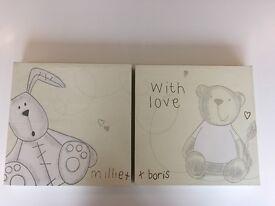 Millie and Boris Canvas Prints
