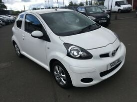 2011 Toyota AYGO 1.0 , mot - August 2019 , only 52,000 miles , 2 owners ,cors...