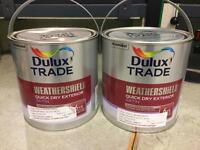 5L Dulux Weathershield Saddle Brown