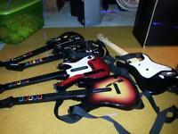 guitars for guitar hero