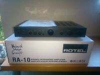 Rotel Ra-10 stereo intergrated amplifier, excellent condition