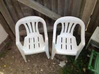 Two kids chairs
