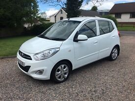 2011 HYUNDAI i10 1.2 ACTIVE -- ONLY 35000 MILES -- £20 ROAD TAX --