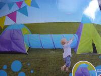 NEW Adventure Set igloo, teepee and tunnel play tent