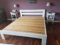 Superking Wooden Bed frame