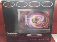 "Goodmans 19"" HD LCD TV"