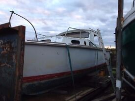project boat 25ft hull