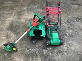 Qualcast Electric Mower And Trimmer