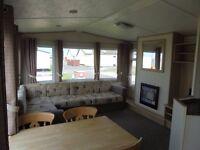 Sunnyvale Caravan Park,Kinmel Bay. Silver 2 bed Caravan.Price depends on dates.