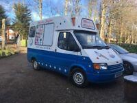 Fullly equipped ice cream van