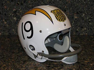 LANCE ALWORTH San Diego Chargers 1963 Custom Football Helmet Full Size