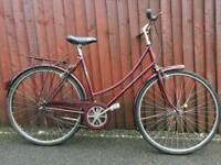 Ladies Raleigh Vintage Road Bike, Vintage Bicycle