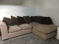 Used 4-seater corner sofa
