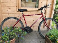Bicycle, mountain bike suitable for boy/girl 12-14 years or small man, used for sale  Winchester, Hampshire