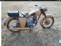 Russian motorcycle. IZH 56. 1962. 350cc twin. Great condition.